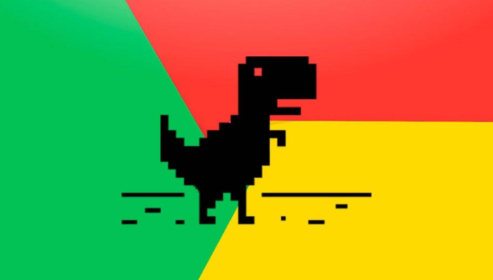 Dinosaurio de Google
