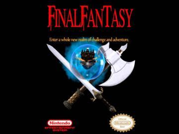 Carátula del original Final Fantasy de NES