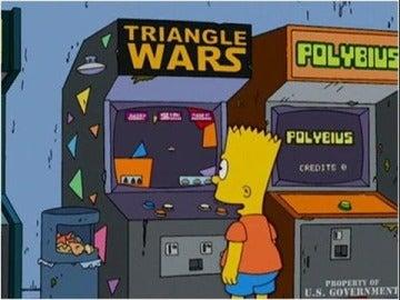 Polybius en Los Simpson