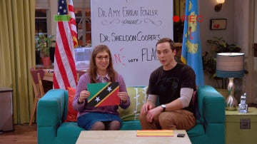 The Big Bang Theory banderas