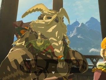 Tyto, patriarca de los Orni en The Legend of Zelda: breath of the Wild