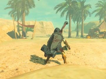 Desierto Gerudo en The Legend of Zelda: Breath of the Wild