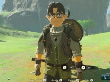 NPC similar a Satoru Iwata