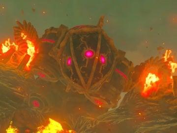 La Bestia Divina Rudania en The Legend of Zelda: Breath of the Wild