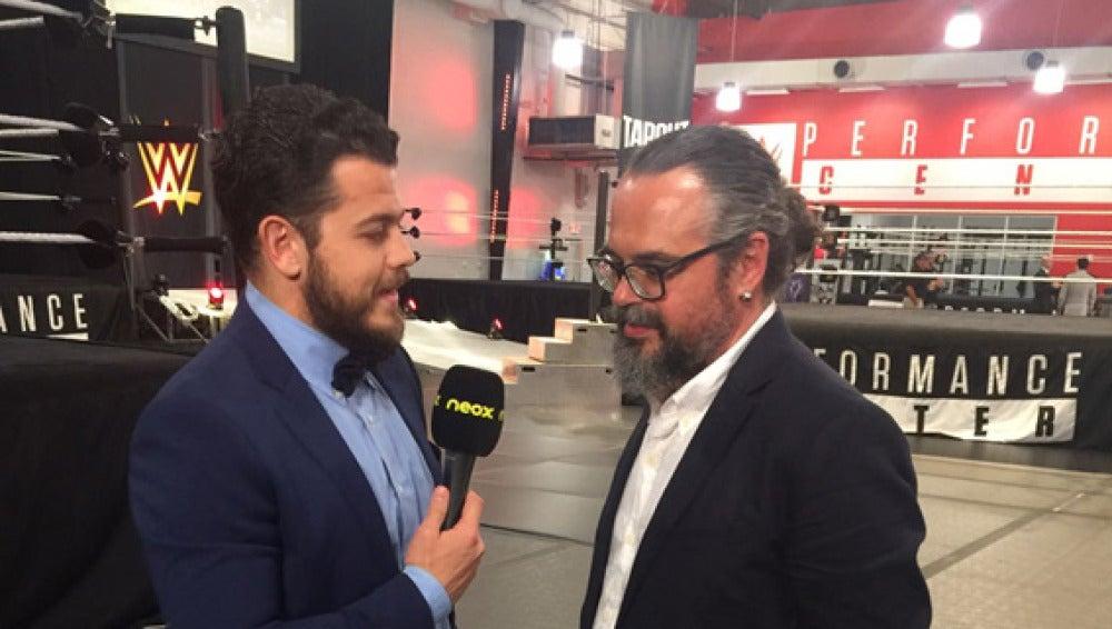 Más WWE habla con Fernando Costilla
