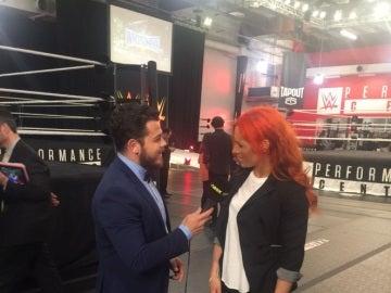 Imágenes exclusivas del equipo de más WWE con las Superstars en Orlando