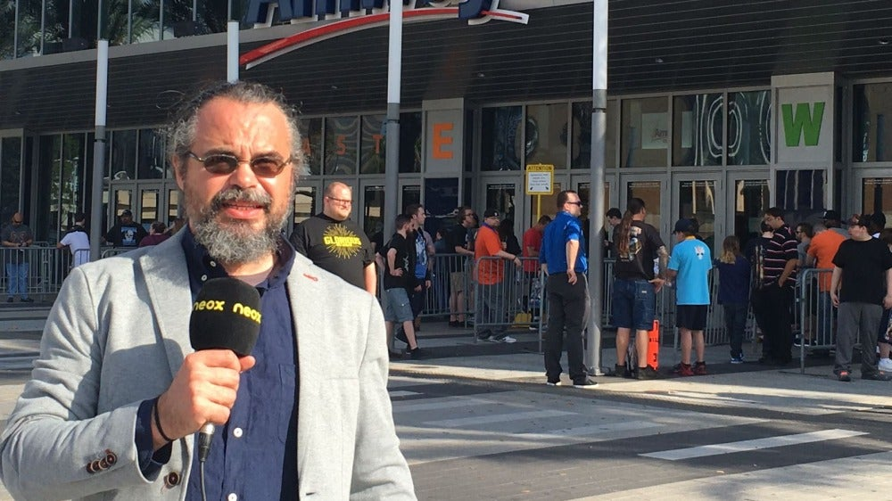 Fernando Cositlla en Wrestlemania 33