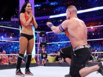 La pedida de mano de John Cena a Nikki Bella