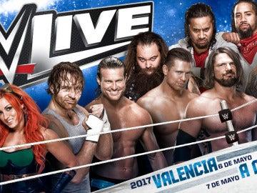 Consigue una entrada doble para la WWE Live en Valencia y A Coruña