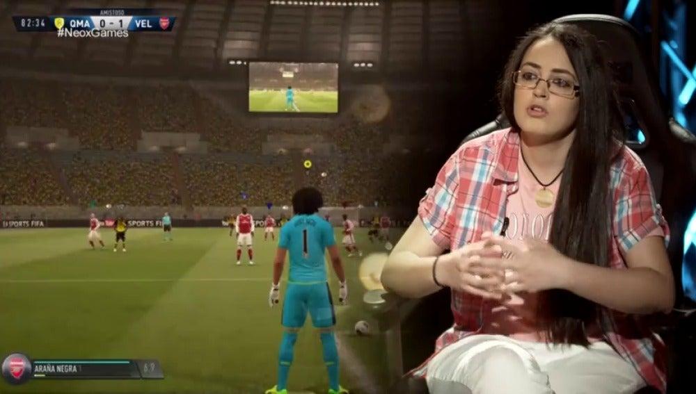 Frame 64.373333 de: La capitana Velociraptors FIFA habla sobre la presencia de la mujer en los videojuegos