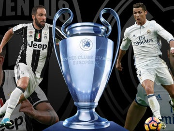 Juventus - Real Madrid en la final de la Champions Total