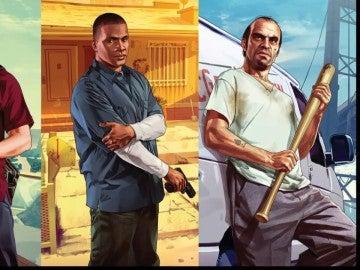 Protagonistas de GTA V
