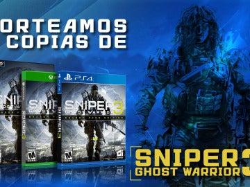 Sorteamos 3 copias de Sniper Ghost Warrior 3