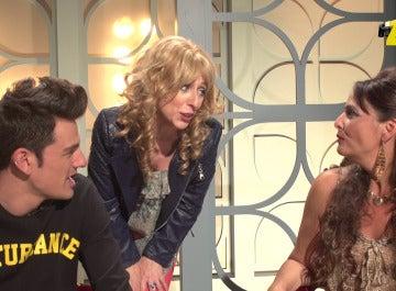 Emma García, El Ruben y la Tamara en 'Homo Zapping'
