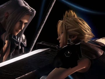 Cloud vs Sephirot en Dissidia Final Fantasy NT