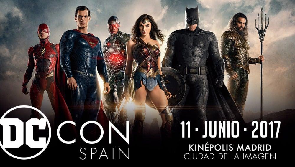 Gana tres entradas dobles para el evento DC Con en Madrid