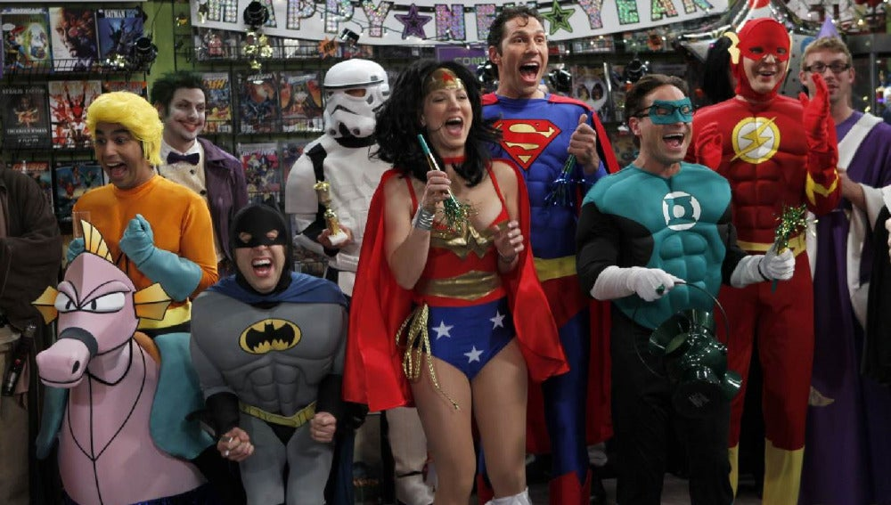 El martes, vive una tarde con 'Big Bang DC Comics'