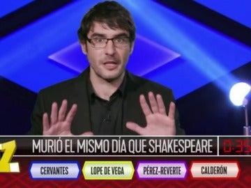 Frame 55.727571 de: ¿Quién murió el mismo día que Shakespeare?
