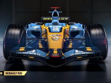 Renault R26 en F1 2017