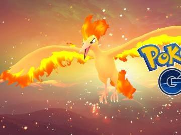 Moltres en Pokémon GO