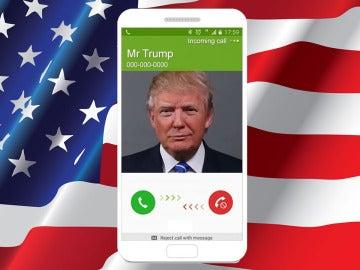 Llamada falsa de Donald Trump en Fake Call