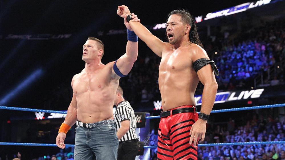 Nakamura, el aspirante al WWE Championship