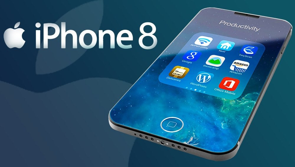 Posible diseño de iPhone 8
