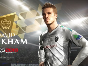 David Beckham en PES 2018