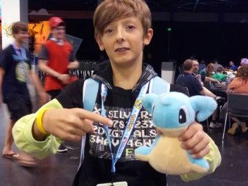 Tomás Serrano, subcampeón del mundo de Pokémon