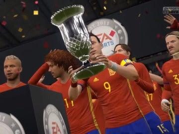 Selección española, campeona en FIFA 17