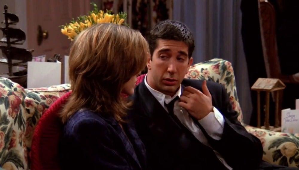 """Ross: """"Rachel, te quiero más que a nadie"""""""