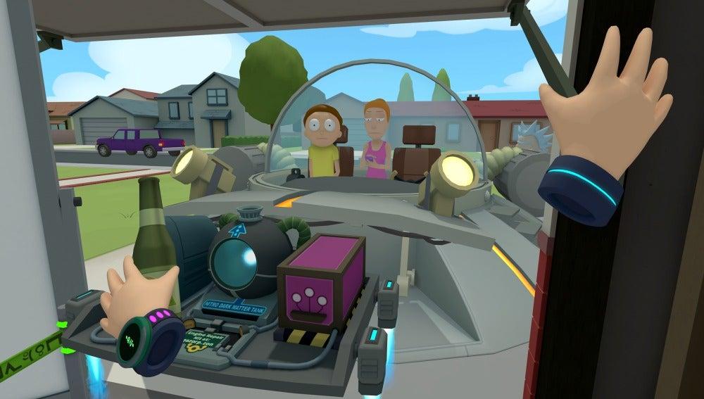 Rick y Morty: Virtual Rick-ality