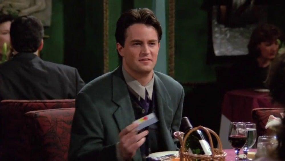 El nuevo error de Chandler en San Valentín