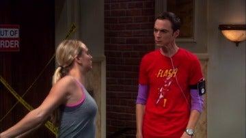 La nueva vida sana de Sheldon Cooper