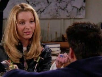 Phoebe no entiende los consejos de Joey para tener sexo