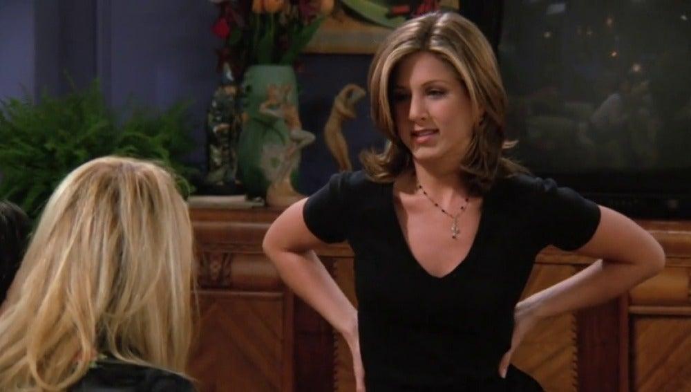 El primer beso entre Ross y Rachel. Dos puntos de vista distintos