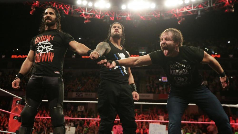 The Shield en 'Raw'