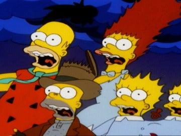 Las espeluznantes historias de la casa-árbol del terror de 'Los Simpson'