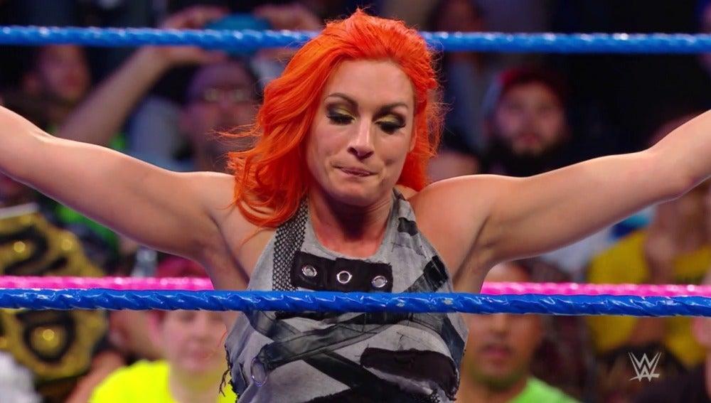 Becky Lynch es la capitana del equipo de SmackDown Live