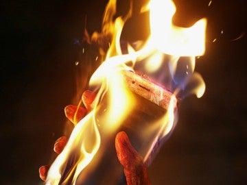 Smartphone ardiendo