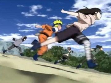 Naruto corriendo