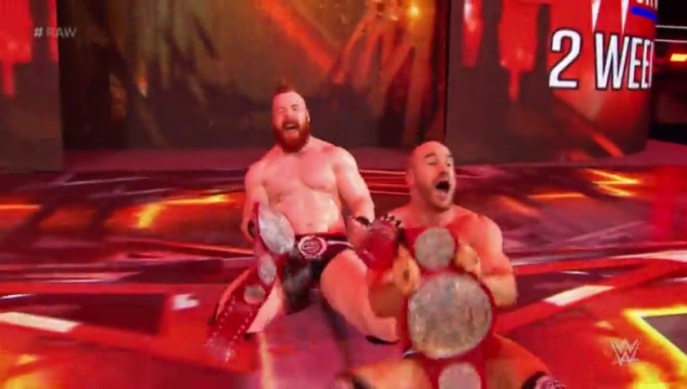 Cesaro & Sheamus, nuevos campeones de RAW