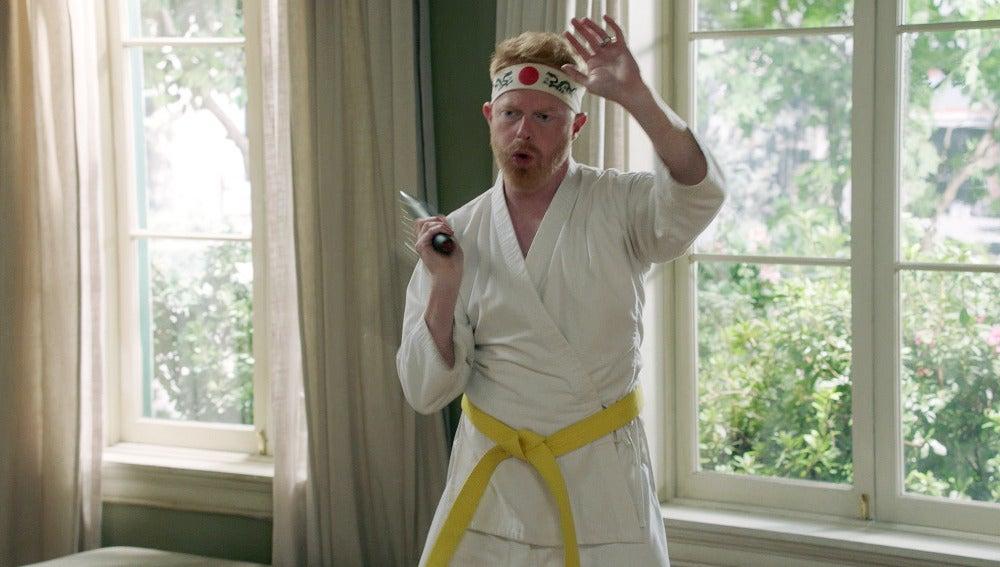 El pasado de Mitchell con Karate Kid