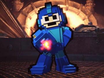 Mega Man en Monster Hunter World