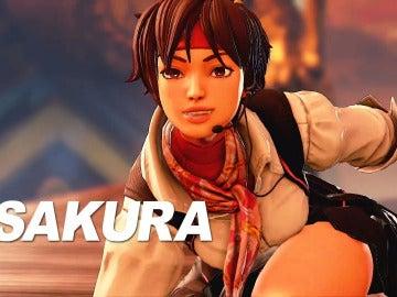 Sakura, de Street Fighter V