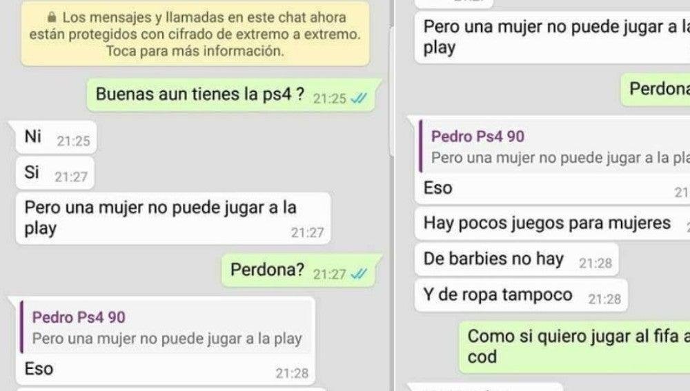 Neox Games Horrible Discrimina A Una Mujer Por Whatsapp Al Querer