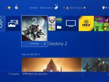 Publicidad en PlayStation 4