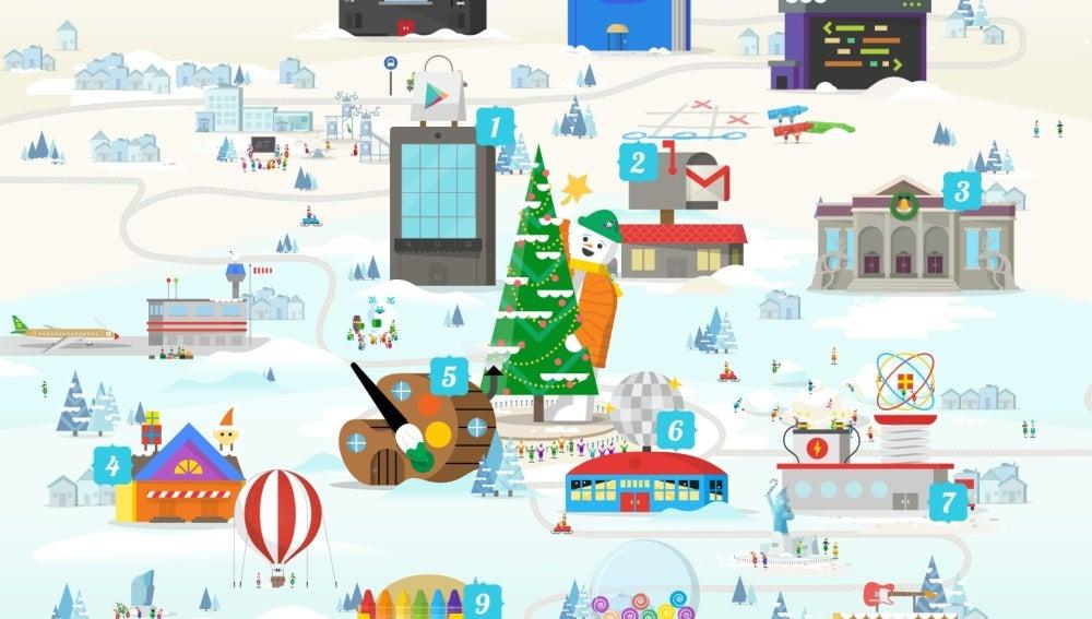 Neox Games Google Plagia El Juego De Moda Para Celebrar La Navidad