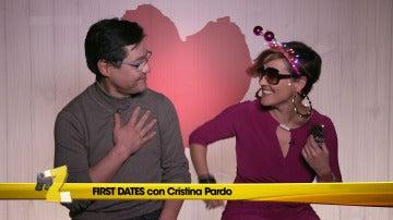 Cristina pardo en First Dates