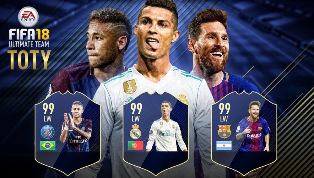 Nominados TOTY FIFA 18